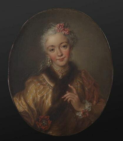 Portrait de femme, dit La Manzanelli