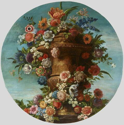 Vase d'or couvert à décor de godrons