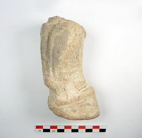 figurine ; pied de vase
