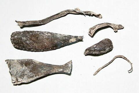 semelle de chaussure, fragment
