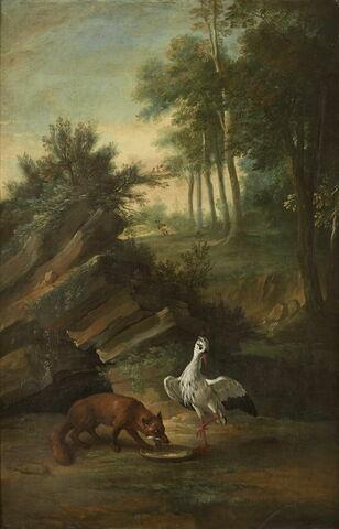 Le renard et la cigogne