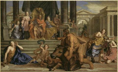 Combat d'Hercule et Acheloüs