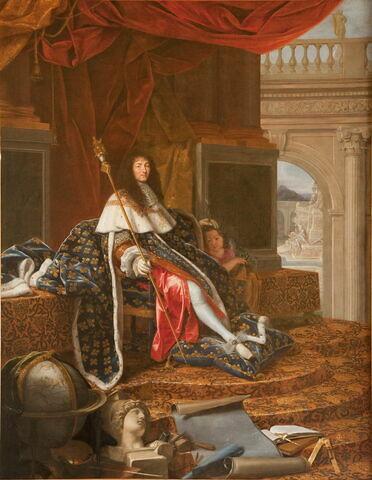 Louis XIV, roi de France (1638-1715), protecteur de l'Académie