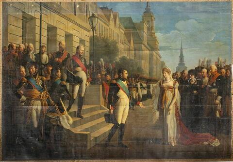Entrevue de Napoléon Ier et de la reine Louise de Prusse à Tilsitt, 6 Juillet 1807