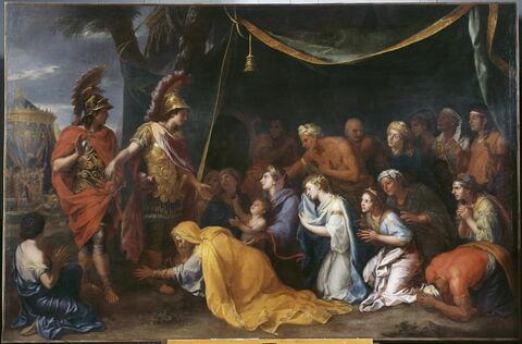 Les reines de Perse aux pieds d'Alexandre