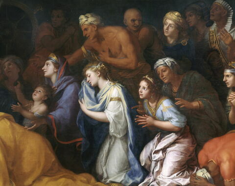 face, recto, avers, avant ; détail © 2004 RMN-Grand Palais (musée du Louvre) / Gérard Blot