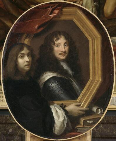 Portrait présumé de l'artiste présentant celui d'un militaire