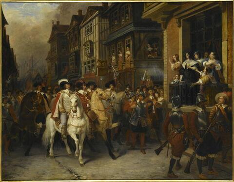 Sujet tiré de l'histoire de Cromwell