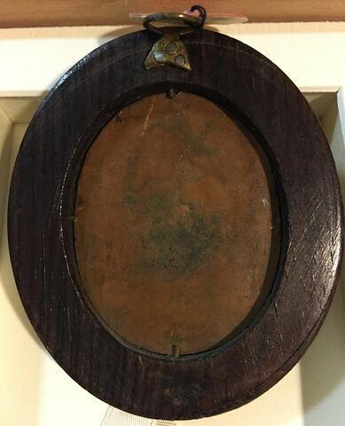 dos, verso, revers, arrière ; vue d'ensemble ; vue avec cadre © 2015 Musée du Louvre / Peintures