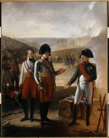 Entrevue de Napoléon Ier et de François II d'Autriche, 4 décembre 1805