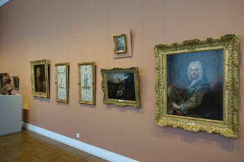 vue avec cadre ; vue d'ensemble ; face, recto, avers, avant ; vue de l'objet en situation © 2020 Musée du Louvre / Peintures