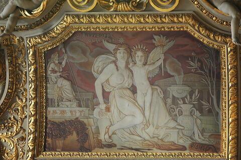 Plafond : La Sculpture grecque