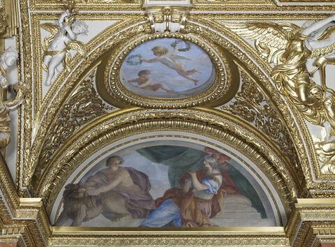 face, recto, avers, avant ; vue d'ensemble ; vue avec cadre © 2013 RMN-Grand Palais (musée du Louvre) / Thierry Ollivier