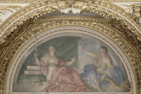 détail ; face, recto, avers, avant ; vue avec cadre © 2002 RMN-Grand Palais (musée du Louvre) / Le Mage/Lewandowski