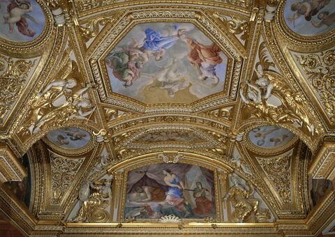 face, recto, avers, avant ; vue d'ensemble ; vue avec cadre © 1988 RMN-Grand Palais (musée du Louvre) / Blot/Jean