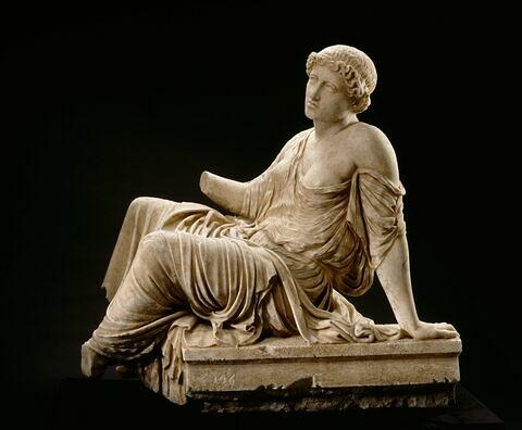 statue ; suppliante Barberini