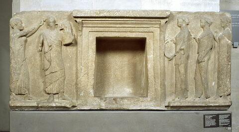 relief architectural ; bloc de parement