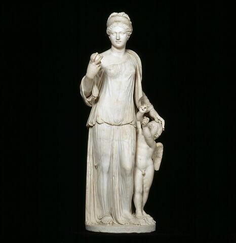 groupe statuaire ; Vénus Richelieu