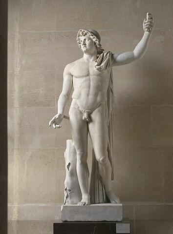 statue ; Alexandre Albani