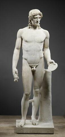 statue ; Apollon dit Bonus Eventus