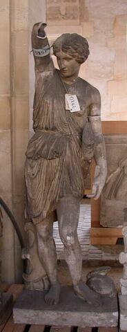 moulage ; statue ; amazone Mattei