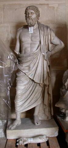 """moulage ; statue ; """"Zeus de Dresde""""."""