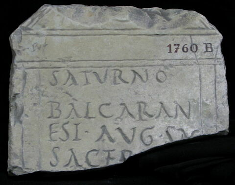 stèle ; inscription