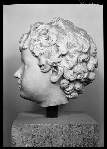 profil gauche © 1985 Musée du Louvre / Maurice et Pierre Chuzeville