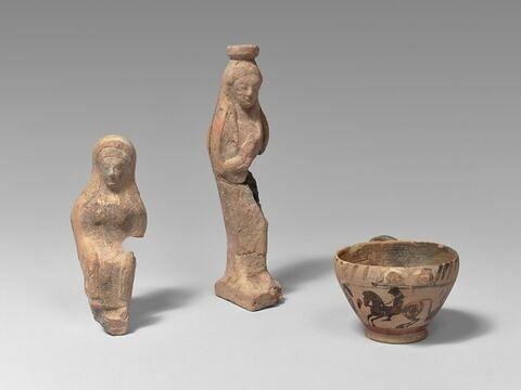 vase plastique ; figurine