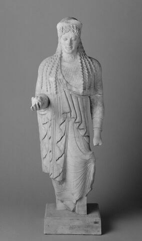 moulage ; statue ; Koré 680 de l'Acropole d'Athènes