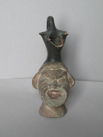 vase plastique ; oenochoé