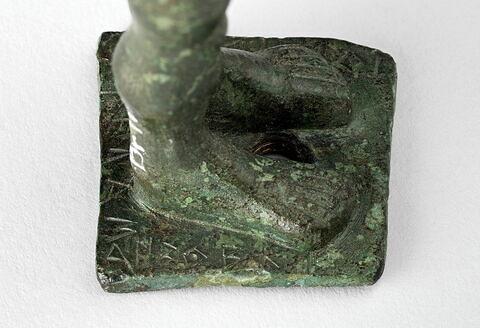 détail ; profil droit © 2018 RMN-Grand Palais (musée du Louvre) / Tony Querrec