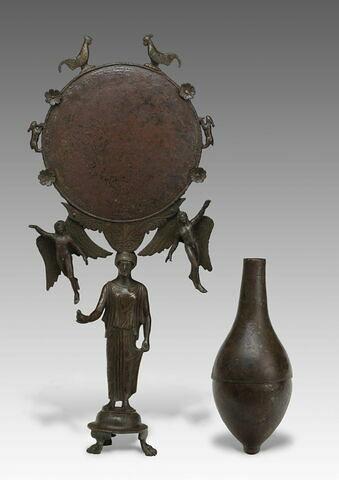 miroir ; vase