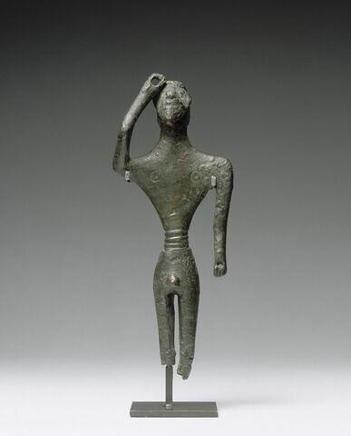 statuette ; anse de trépied