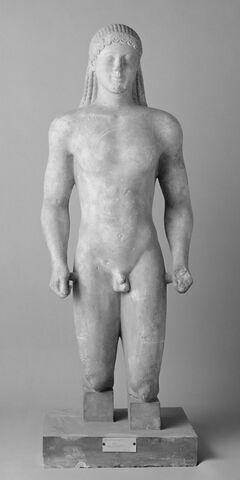 moulage ; statue ; Kouros du Ptoion n°12