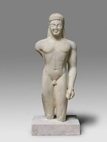 moulage ; statue ; Kouros de Paros