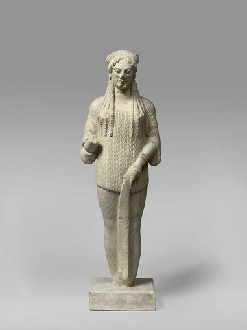 moulage ; statue ; Koré 670 de l'Acropole d'Athènes