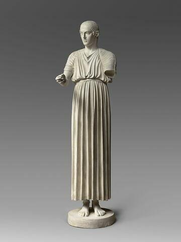 statue ; Aurige de Delphes