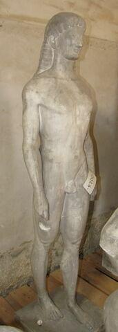 moulage ; statue ; Kouros de Ténéa