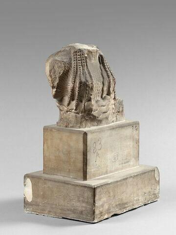 trois quarts droit © 2014 Musée du Louvre / Hervé Lewandowski