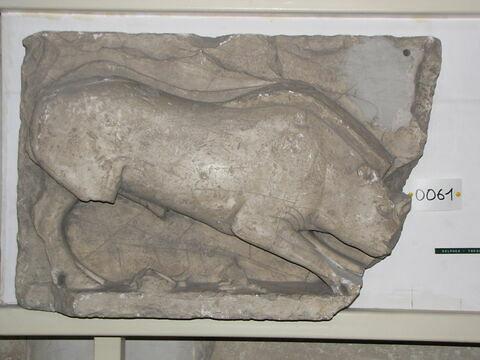 moulage ; métope ; Métope du sanglier de Calydon