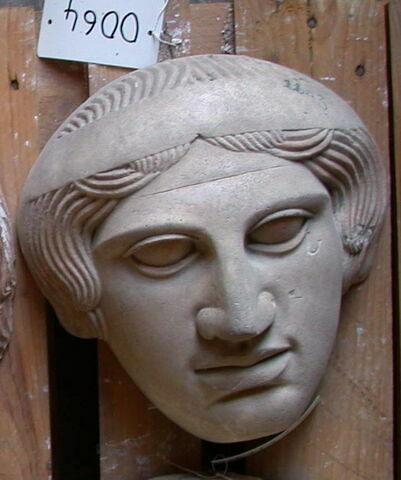 moulage ; couvercle de sarcophage