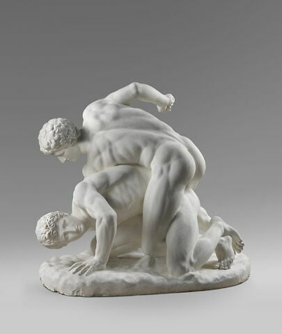 moulage ; groupe statuaire ; lutteurs Médicis