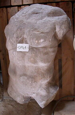 moulage ; décor architectural ; statue ; Figure H dite Hermès