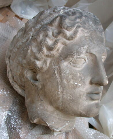 profil droit © 2007 Musée du Louvre / Antiquités grecques, étrusques et romaines