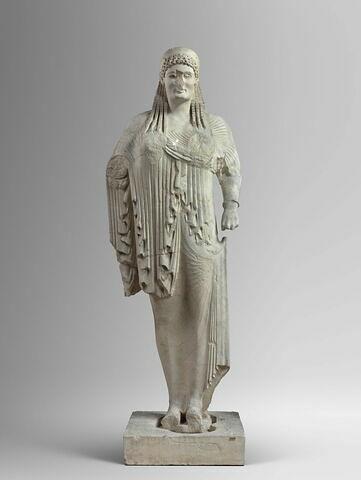 moulage ; statue ; Corè d'Anténor.