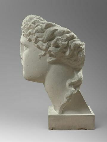 profil gauche © 2014 Musée du Louvre / Hervé Lewandowski