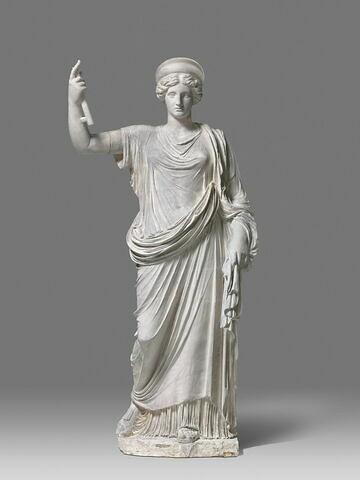 """moulage ; statue ; Héra Farnese ou """"Héra de Naples"""" ou """"Junon de Naples""""."""