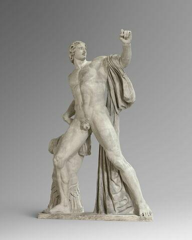 moulage ; statue ; dioscures de Monte Cavallo ou Dioscure du Quirinal