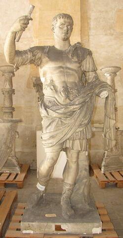 moulage ; statue ; Domitien du Vatican